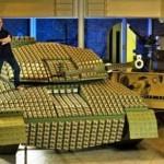 Un tanque de Guerra increíble